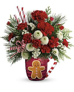 Send A Hug? Winter Sips Bouquet by Teleflora