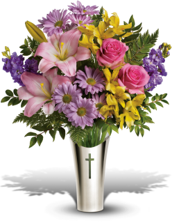 Silver Cross Bouquet