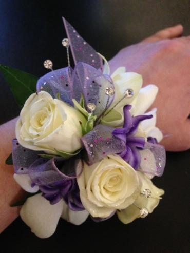 Corsage in Shades of lavender