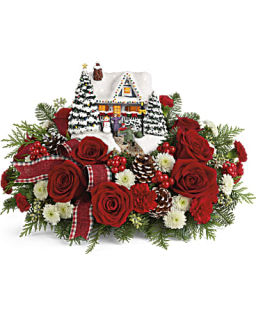 Teleflora Thomas Kinkade Hero\'s Welcome Bouquet