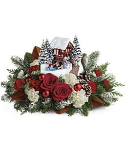 Thomas Kinkade\' Snowfall Dreams Bouquet