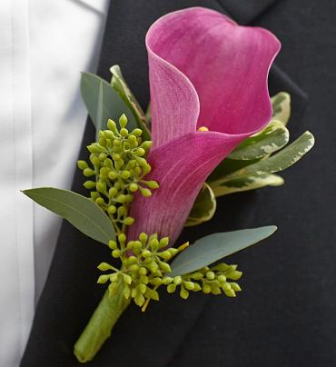Vineyard Wedding Boutonniere