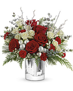 Teleflora\'s Wintry Wishes Bouquet Premium